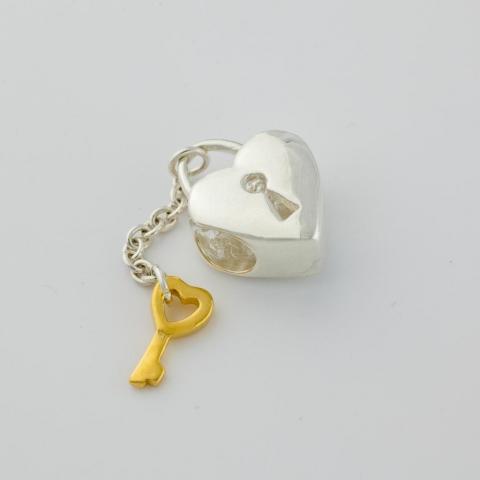 Productfoto van zilveren sieraad gefotografeerd door Robert Zwart productfotograaf