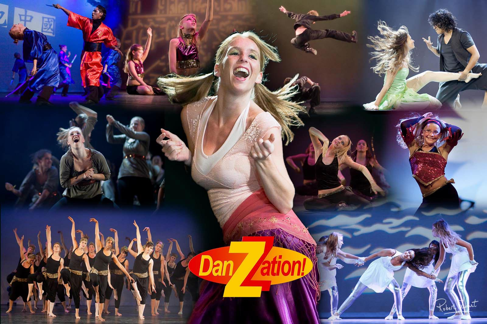 Compilation of dancers of danzation