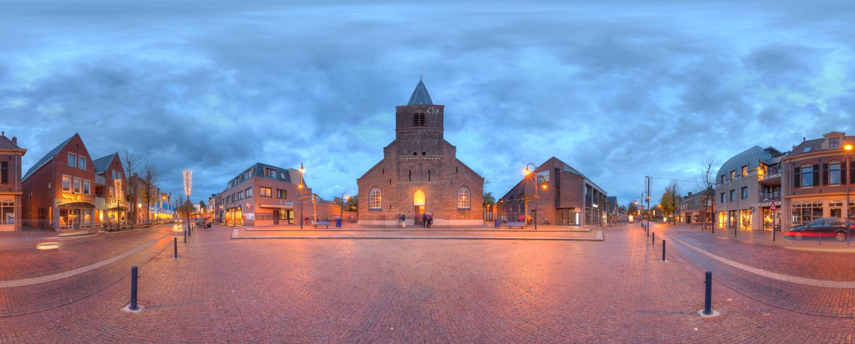 Interierfotograaf en architectuurfotograaf Robert Zwart foto van centrum Bennekom.