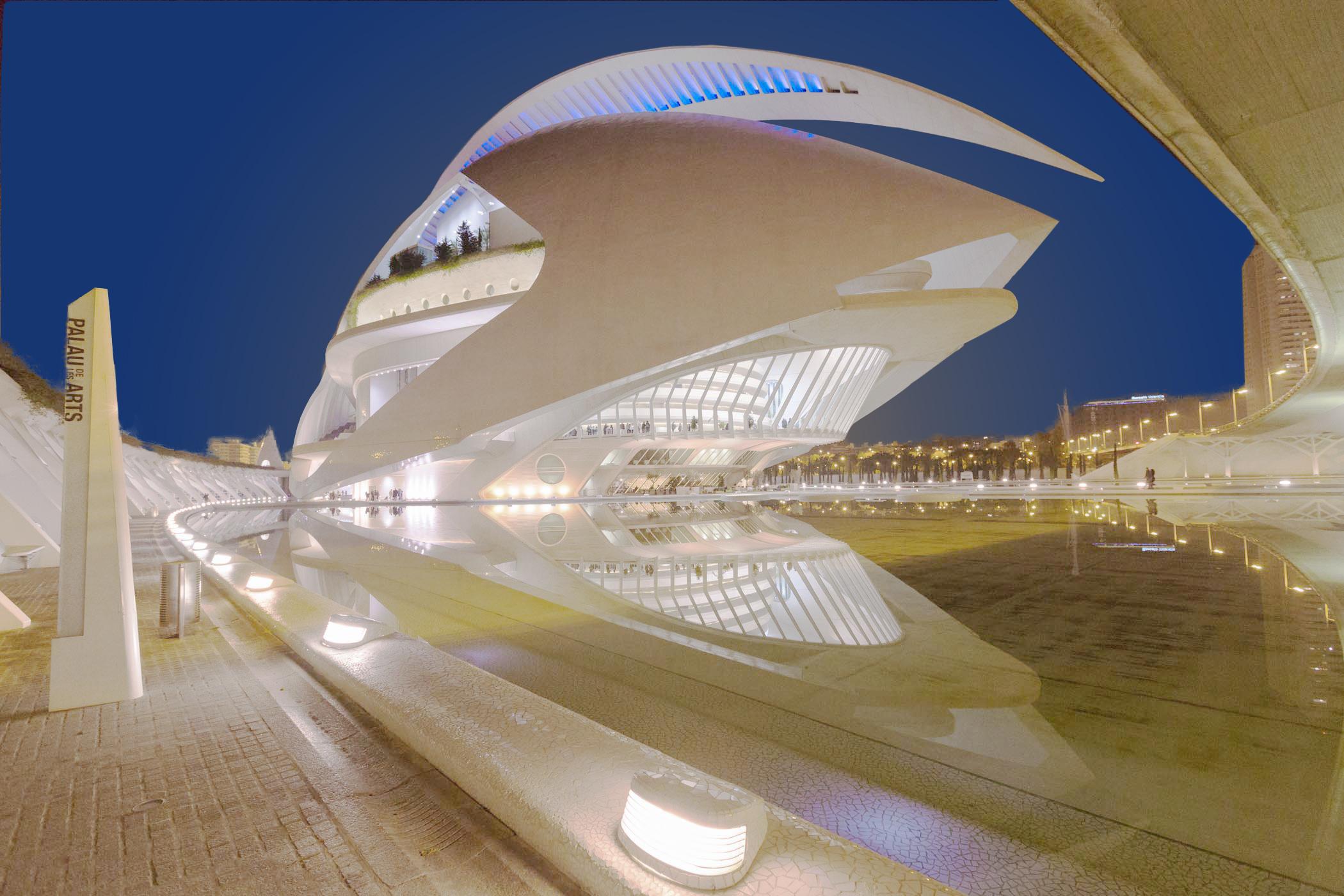 Interierfotograaf en architectuurfotograaf Robert Zwart toont een foto van architectuur in Valencia.